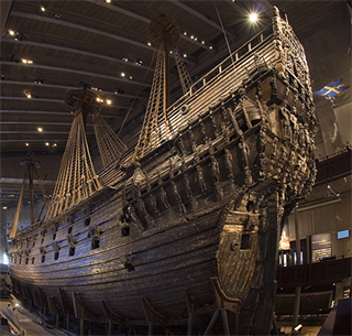 Intellinova Parallel MB secures indoor climate for 17th century warship Vasa